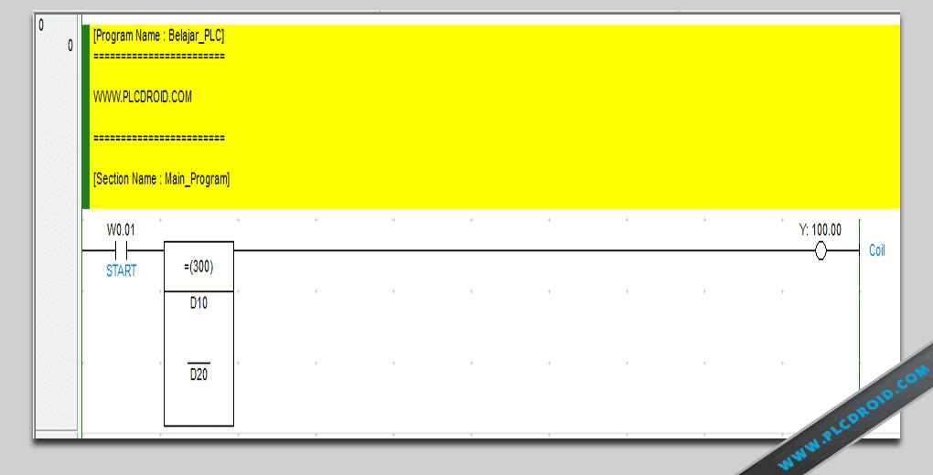 Omron Plc 6 Instruksi Input Compare