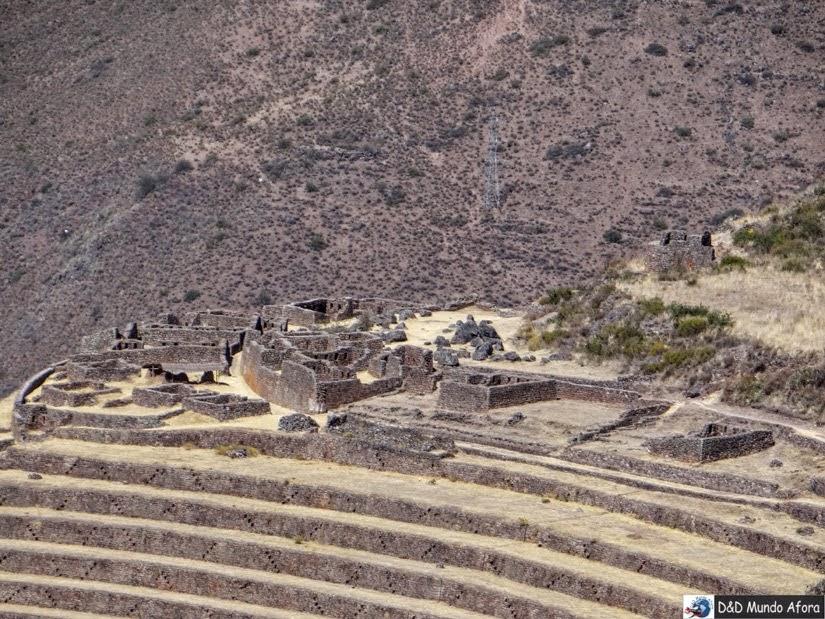 Antigo cemitério inca de Pisac - Peru - City tour Vale Sagrado