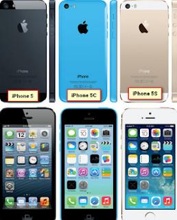 Tips Membedakan Iphone 5, 5C serta 5S