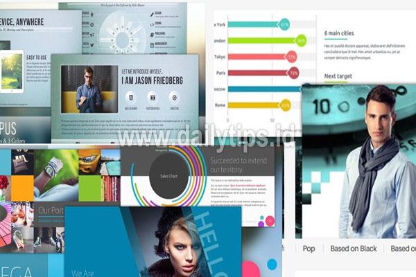 Download Template Powerpoint Gratis Keren Ppt Dailytips