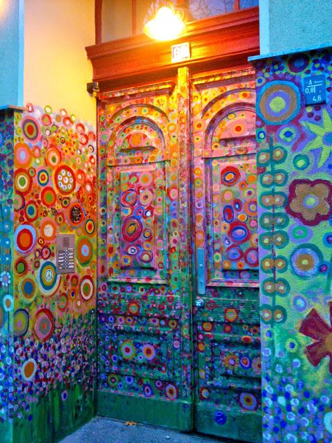 Portal decorado en Kreuzberg