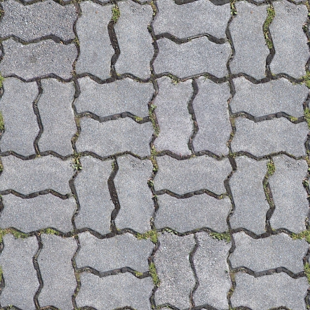 [Mapping] Sidewalk stone tiles