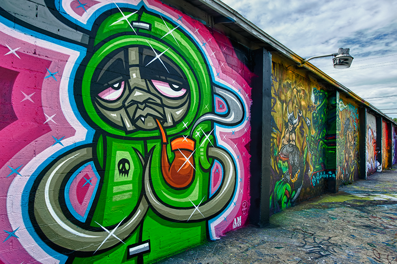 Graffiti art - Creative, colorful, and very cool ...
