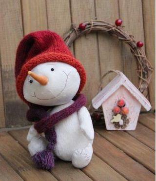 cómo-hacer-muñeco-nieve-navideño