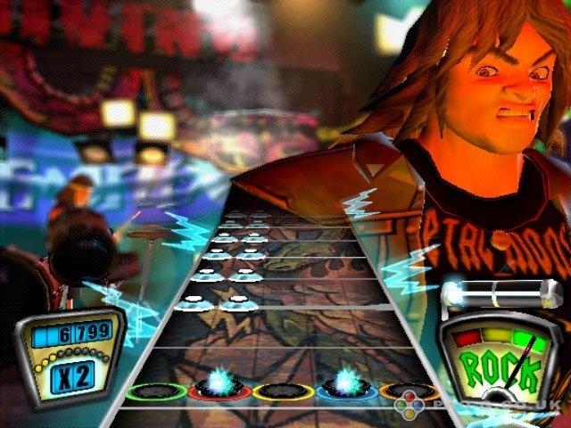 Guitar Hero PS2 GAME ISO Screenshot 1