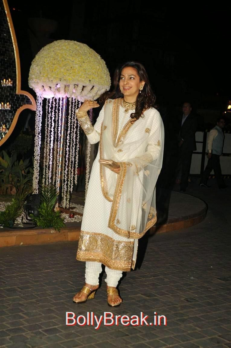 , Karishma Kapoor, Urmila Matondkar, Kriti Sanon, Sophie Choudry At Riddhi Malhotra Wedding Reception