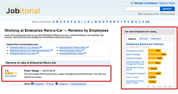 Jobitorial.com employee company reviews, what employees think of their company, jobitorial.com,