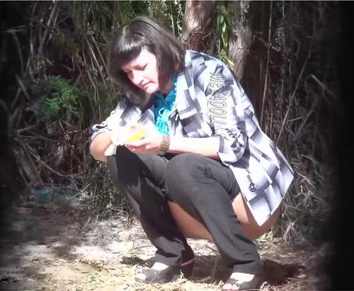 PissHunters 9075-9090 (Outdoor voyeur peeing. Voyeur public toilet spy cam)