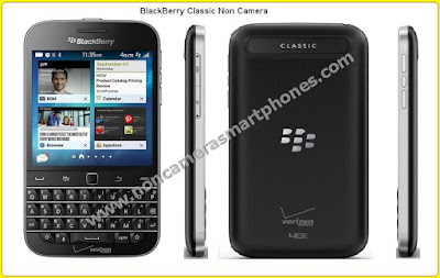 Blackberry Classic Cameraless Smartphone Photos Images Review