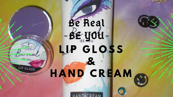 BRAMLEY | Be Real - BE YOU | Hand Cream and Lip Gloss (Christmas Edition)
