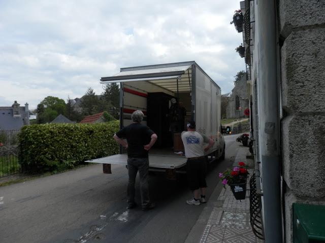 Emmaus delivery, Morlaix, France
