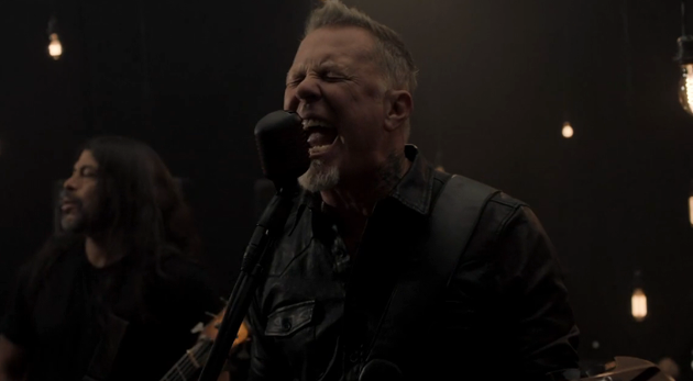 Metallica Moth Into Flame