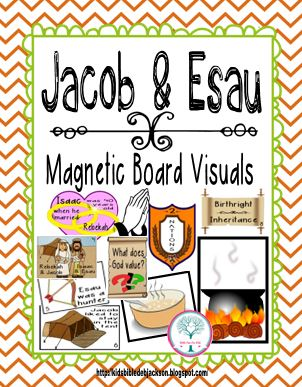 Bible Fun For Kids: Cathy's Corner: Jacob & Esau