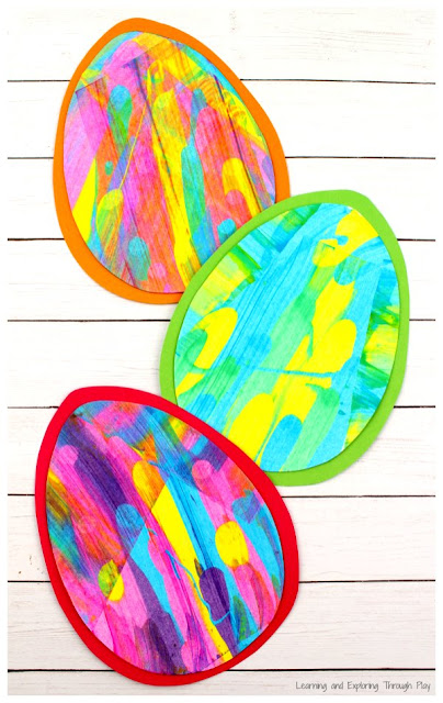 Scrape Easter Egg Craft