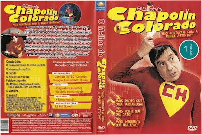 Série O Melhor do Chapolin Colorado Volume 1 DVD Capa