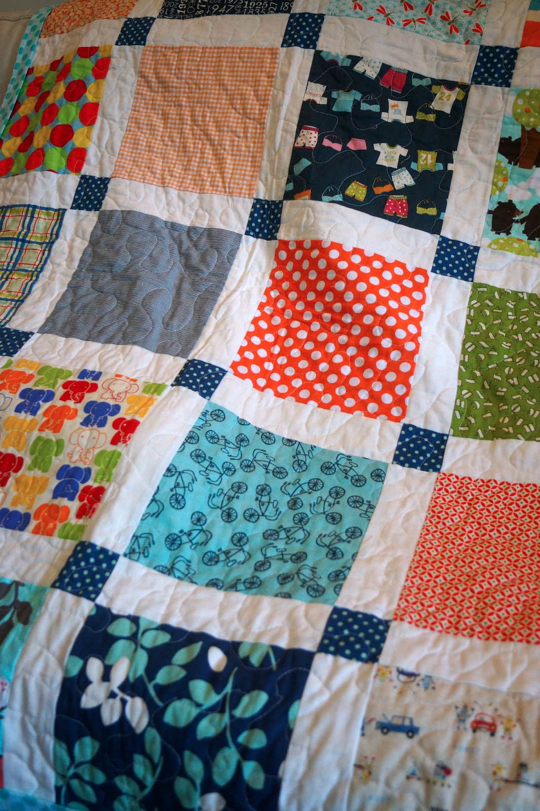 Roxy Creations New Baby Boy Quilts