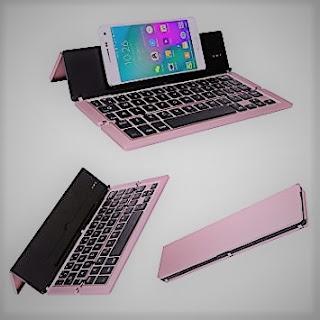 Tastiera Universale Portatile: wireless, sottile e pieghevole,