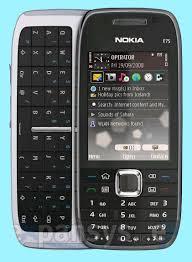 Nokia E75 flash file