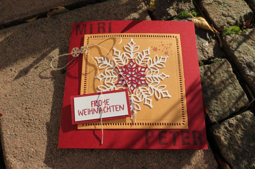 Weihnachtskarten Personalisiert.Personalisierte Weihnachtskarten Teil 1
