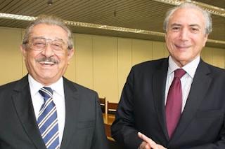 Zé Maranhão se reúne com Michel Temer para tratar de assuntos da Paraíba