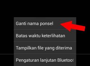 Cara Ubah Nama Bluetooth di HP android