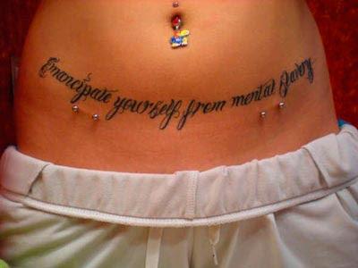 Tatuagens Na Costela Frases Femininas