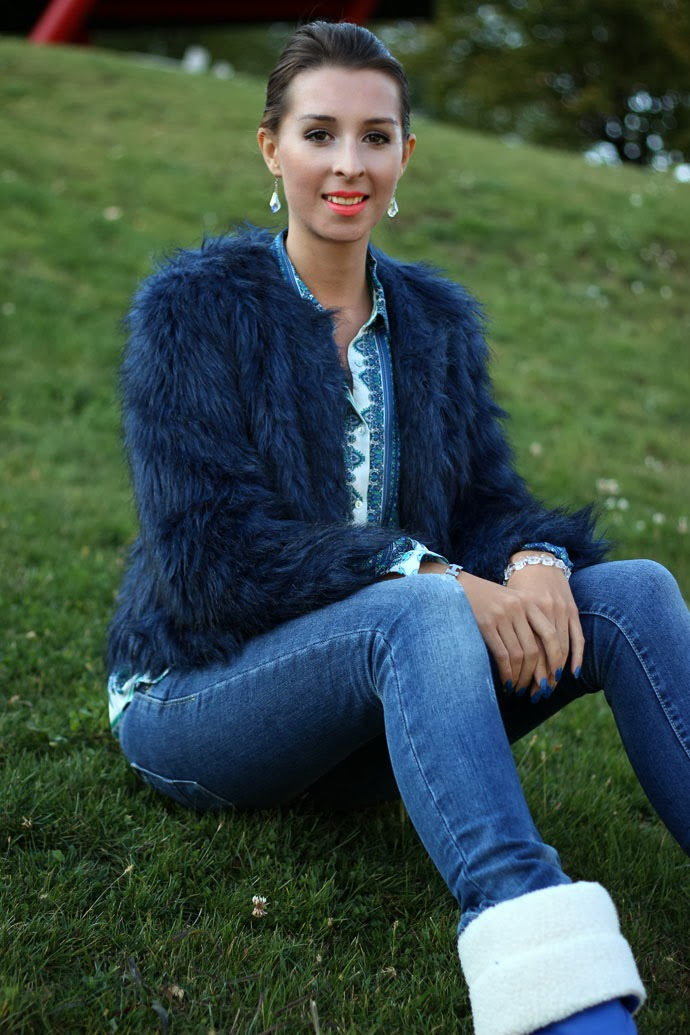 Fabulous Dressed Blogger Woman Patricia From Romania
