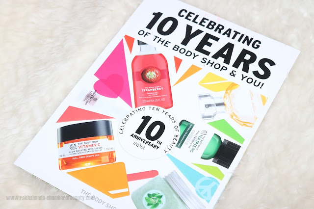 10 Summer essentials from The Body Shop, Chamber of Beauty, Indian beauty blogger