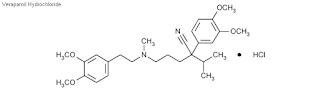 Verapamil merupakan obat yang dipakai untuk Kardiovaskuler Verapamil