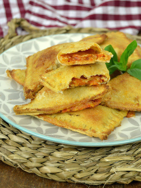 Empanadillas pizza con pan de molde