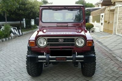 Eksterior Daihatsu Taft Kebo / Badak Tampak Depan