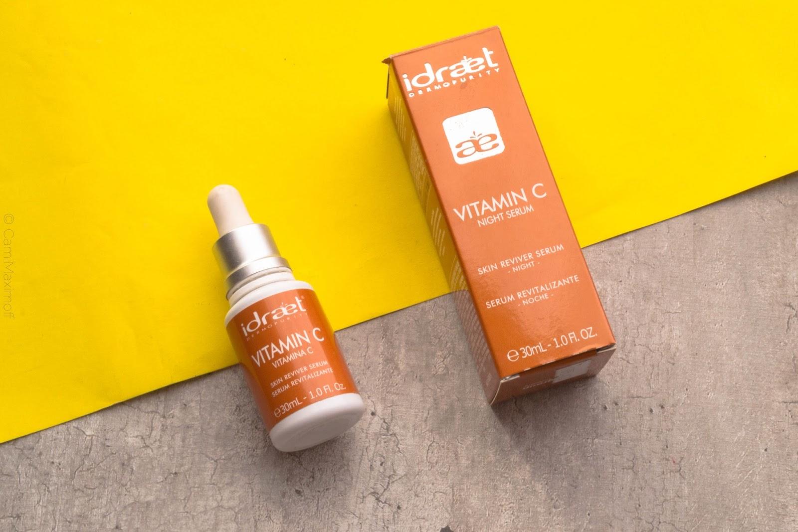 vitamina c idraet serum noche resultados