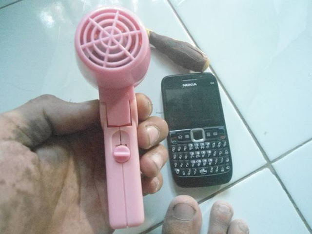 hair dryer kecil