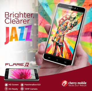 Cherry Mobile Flare J2 Now Available for Php2,999, Marshmallow with 13MP Main Camera