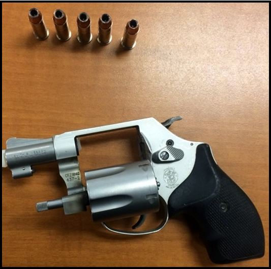 Loaded firearm disovered at BNA.
