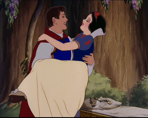 Prince Charming and Snow White Snow White and the Seven Dwarfs 1937 animatedfilmreviews.filminspector.com