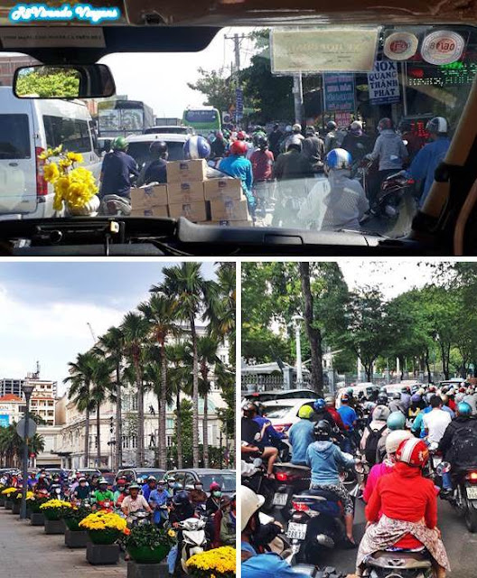 trânsito no vietnã