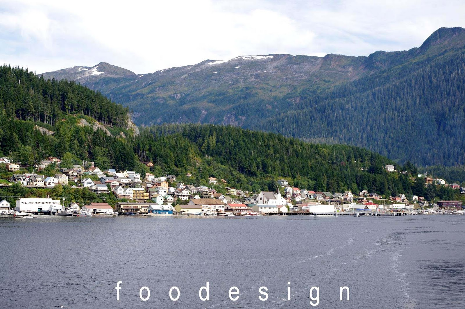 Foodesign Our First Port In Alaska Ketchikan