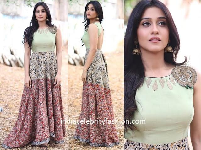 Regina Cassandra in Kalamkari Dress