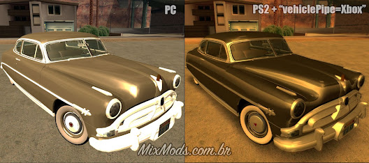 mod gráficos do ps2 e reflexo do xbox para o gta sa pc