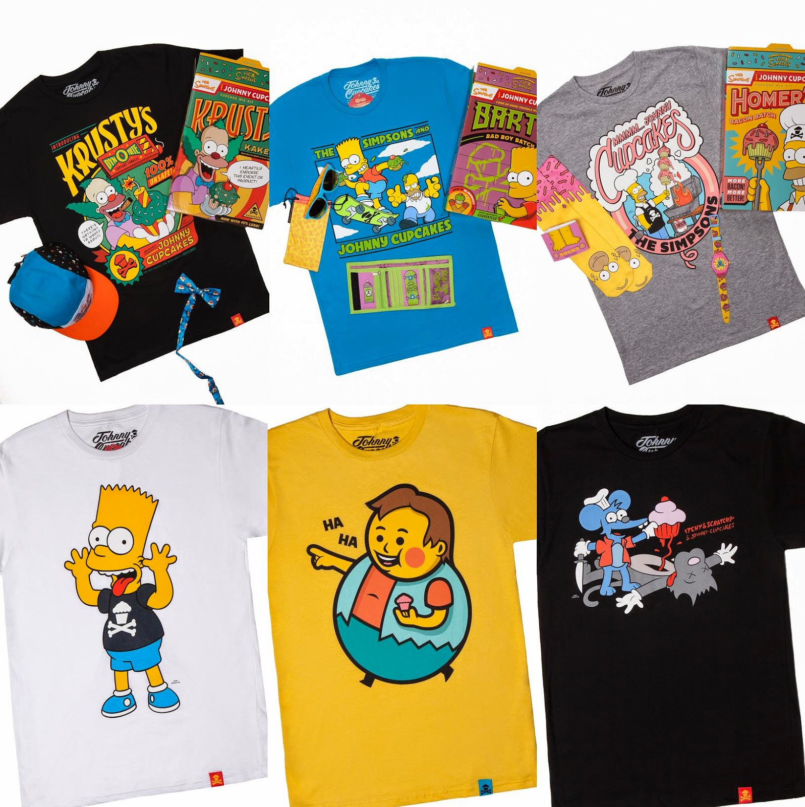 6818e438ce19 The Blot Says...: The Simpsons x Johnny Cupcakes T-Shirt Collection