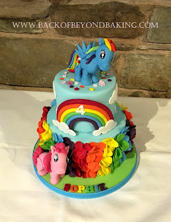 2 tier my little pony cake