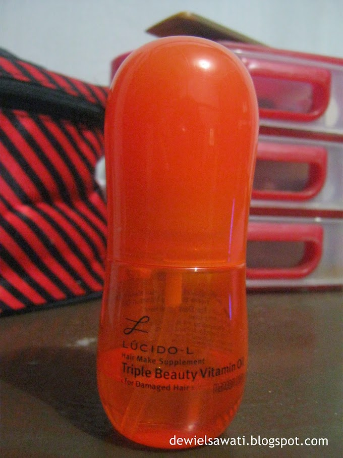 REVIEW Lucido-L Hair Make Suplement