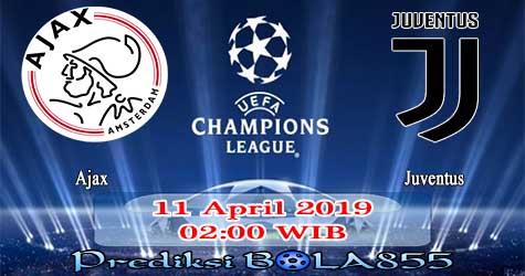 Prediksi Bola855 Ajax vs Juventus 11 April 2019