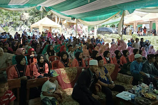 Suasana penyelenggaraan FSN Gunung Halu (7/5/18)