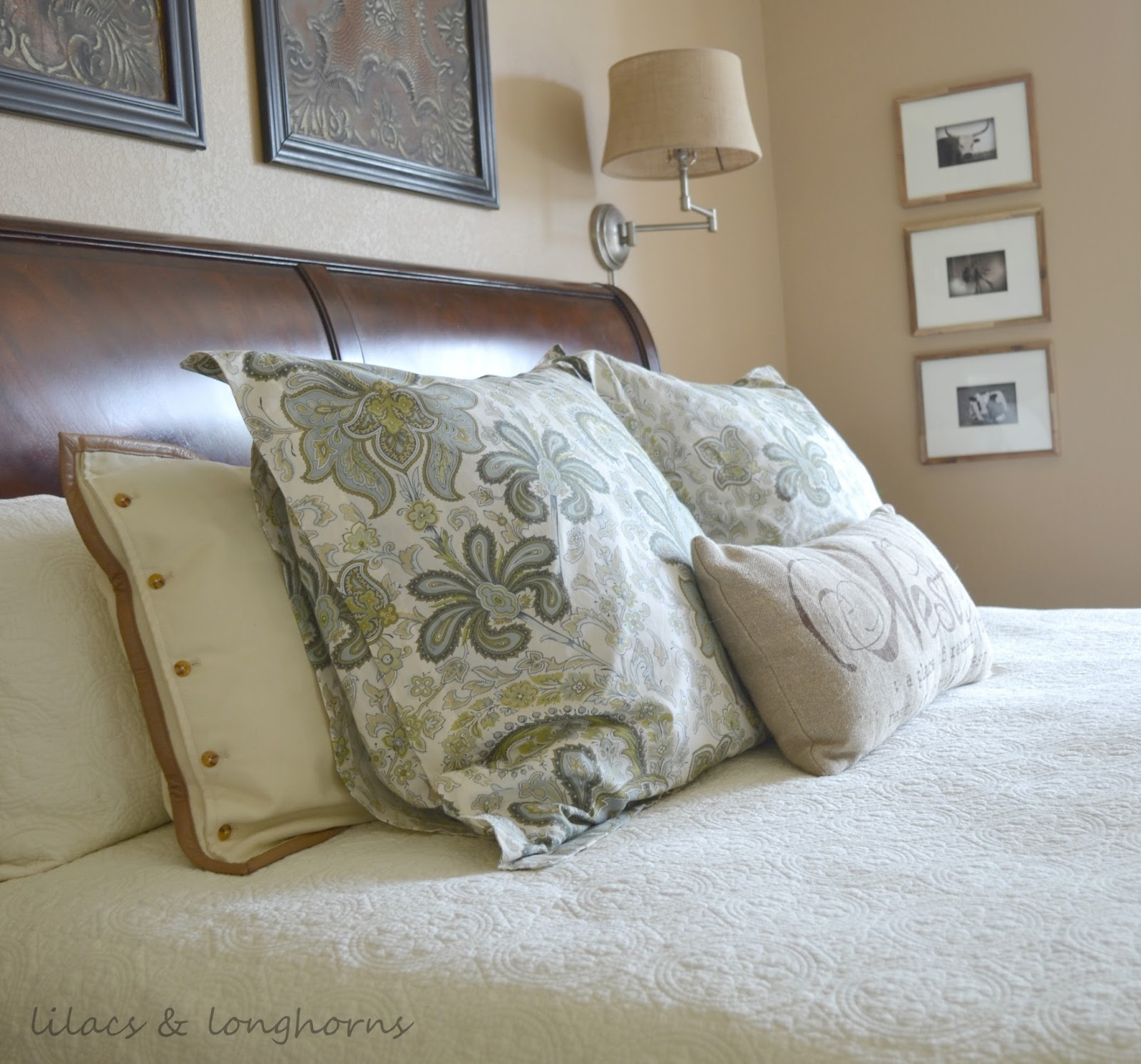 Master Bedroom Update Lilacs And Longhornslilacs And