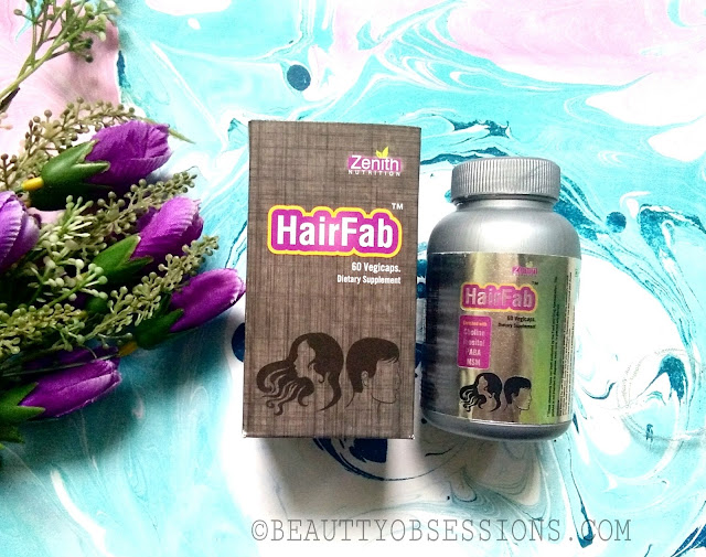Zenith Nutrition Hair Fab Dietary Supplement - Review