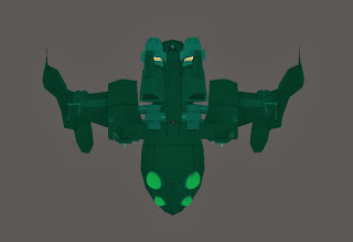 Image showing the top view of the Bullfrog