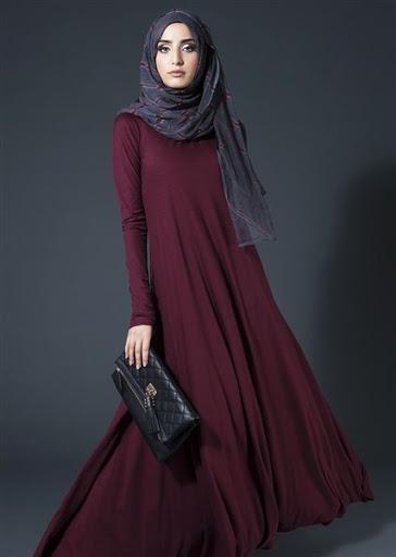 model baju muslim casual wanita terbaru 2015 2016 b2e8f9de12