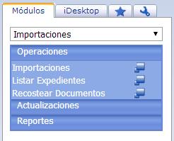 Módulo de Importaciones - Productos Web de eFactory: ERP/CRM, Nómina, Contabilidad, Punto de Venta, Productos para Móviles y Tabletas